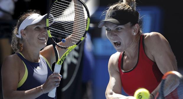 Número 1 do mundo, Wozniacki eliminou a romena Monica Niculescu, enquanto Halep bateu a letã Anastasija Sevastova