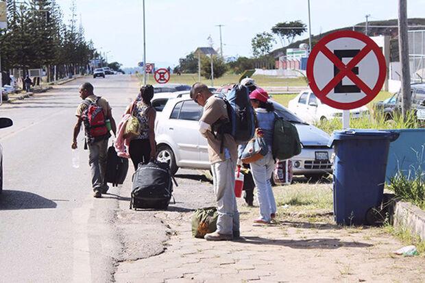 Segundo a Polícia Federal, 42 mil imigrantes venezuelanos entraram em 2017 por via terrestre em Roraima e não saíram