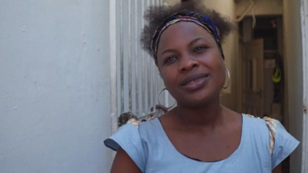 A congolesa Sylvie Mutiene