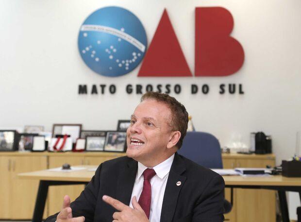 Vice-Presidente da OAB-MS, Gervásio Alves de Oliveira Júnior