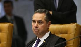 Brasília - Ministro Luiz Roberto Barroso durante sessão do STF para julgar restrição ao foro privilegiado para parlamentares (Antônio Cruz/Agência Brasil)