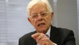Brasília - O ministro-chefe da Secretaria-Geral da Presidência, Moreira Franco, durante anúncio de novas contratações do Minha Casa, Minha Vida (Fabio Rodrigues Pozzebom/Agência Brasil)