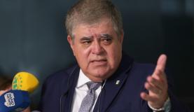 Brasília - O ministro da Secretaria de Governo, Carlos Marun, fala à imprensa, no Palácio do Planalto (Fabio Rodrigues Pozzebom/Agência Brasil)