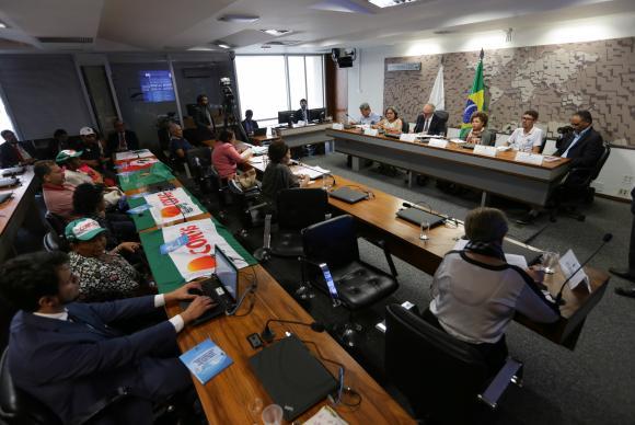 Brasília - Audiência pública no Senado debate Água como Direito, e a visão da sociedade sobre o tema (Fabio Rodrigues Pozzebom/Agência Brasil)