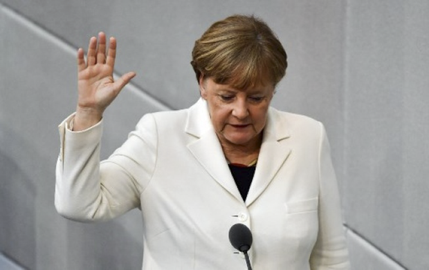 A aliança conservadora de Merkel venceu a eleição parlamentar, realizada em setembro do ano passado, mas não conquistou maioria absoluta