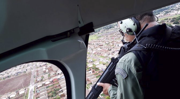 A operação em Dourados foi planejada pelo comando do 3º BPM, subsidiada por informações da Agência Local de Inteligência (ALI) e também pelo mapa criminal do município