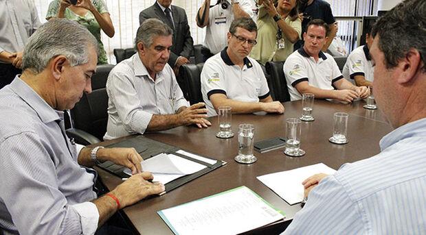 Para o governador Reinaldo Azambuja este é um investimento gratificante, que proporciona ainda o retorno à sociedade