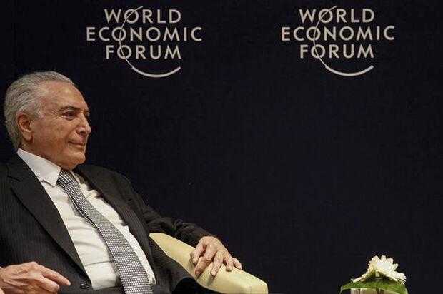 Ao lembrar que o Brasil está se movimento em direção à abertura comercial, com a condução final de um acordo do Mercosul com a União Europeia e o Canadá, Temer frisou que seu governo é contra 'todo e qualquer protecionismo