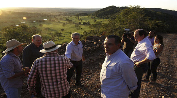 Para o governador Reinaldo Azambuja quando você consegue encurtar caminho para o setor produtivo você dá competitividade maior