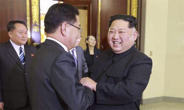 Na semana passada, Chung disse que Trump e Kim se reúnem até maio para tratar do fim do programa nuclear norte-coreano
