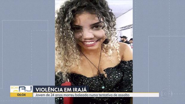 Segundo a PM, ladrões abordaram o carro em que Tarsila dos Santos estava e atiraram depois que o motorista, o marido da vítima, se assustou com a ação dos criminosos