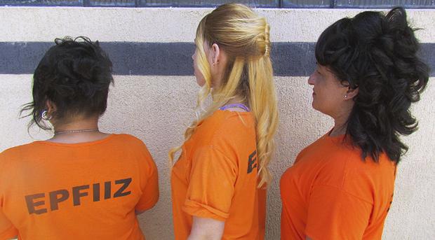 No presídio, a capacitação teve a coordenação das agentes penitenciárias Michele Fruhauf e Janaína Ajala