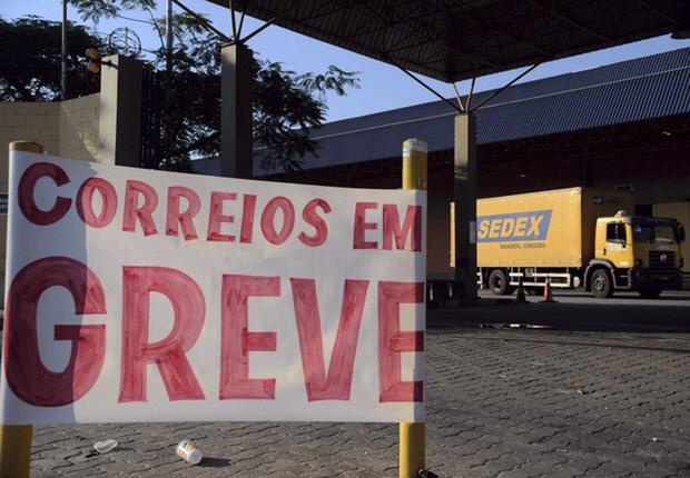 A greve foi deflagrada após um impasse sobre o financiamento dos planos de saúde dos funcionários