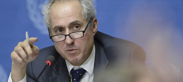 O porta-voz do secretário-geral da ONU, Stéphane Dujarric.