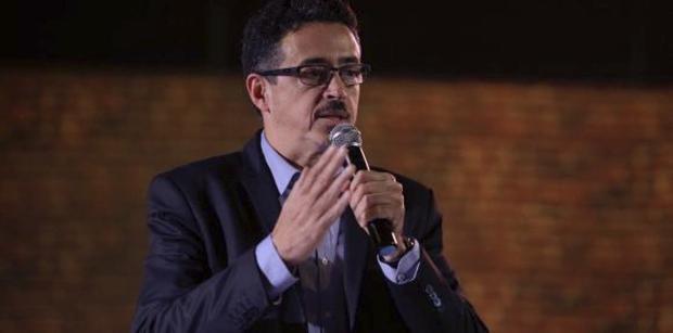 O ministro da Cultura do Brasil, Sérgio Sá Leitão, durante assinatura de acordo de intercâmbio de artistas entre Brasil e Argentina, na Escola Nacional de Circo