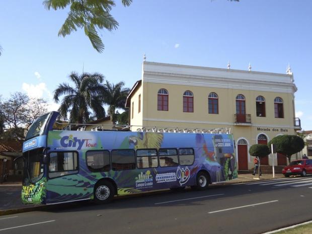Ônibus do City Tour em Campo Grande