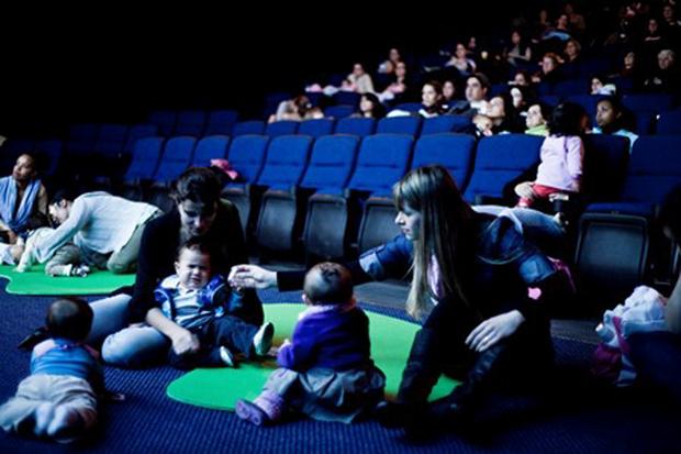 O CineMaterna tem patrocínio do Shopping Campo Grande e da Natura Mamãe e Bebê