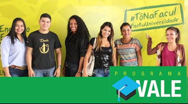Segundo a Secretária de Direitos Humanos, Assistência Social e Trabalho, Elisa Cleia Nobre no Vale Universidade, o Estado paga até 70% do valor da mensalidade, cabendo ao acadêmico os 10% restantes