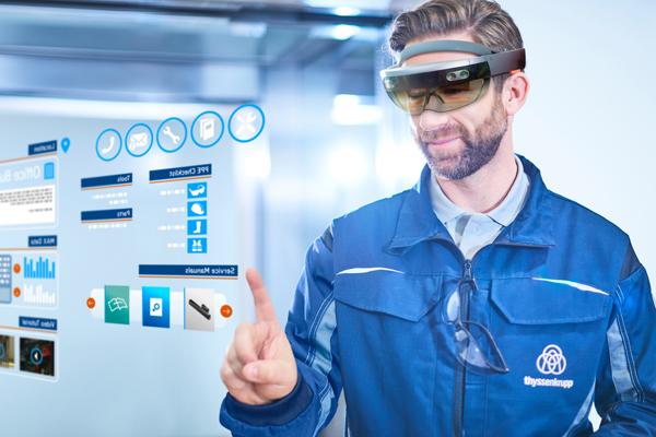 Solução amplia possibilidades para os técnicos de manutenção, com o uso do HoloLens, dispositivo de realidade mista da Microsoft