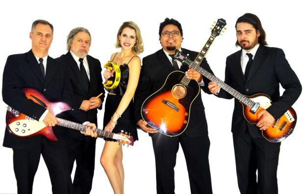 Banda Beatles Maníacos se apresenta na sexta-feira