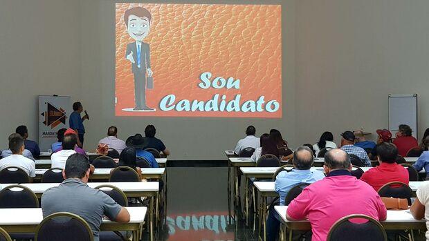 Curso de capacitação aos pré-candidatos do Solidariedade