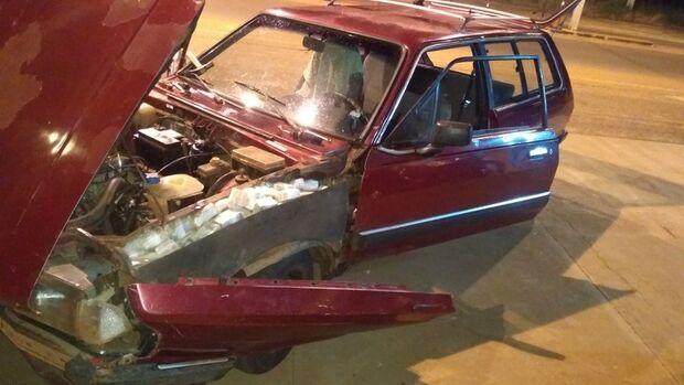 O motorista de 36 anos declarou que pegou o veículo em Ponta Porã/MS, levaria a São Paulo/SP e receberia a quantia de R$ 5.000,00 (cinco mil reais)