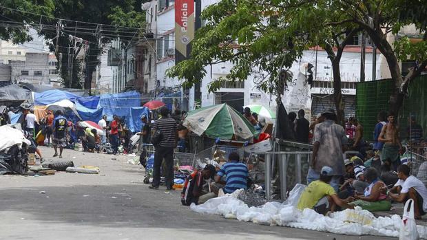 De acordo com a Prefeitura, 163 famílias que viviam no local foram cadastradas no sistema de habitação da cidade