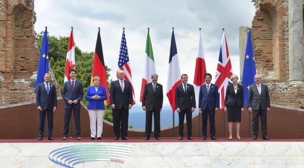 Ainda segundo o G-7, a ofensiva militar só foi realizada após a exaustão de todas as opções diplomáticas possíveis para garantir a norma internacional contra o uso de armas químicas