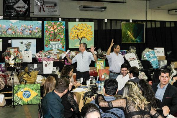 Leilodom aconteceu na noite de terça-feira (15) como parte integrante da 54ª Expoagro