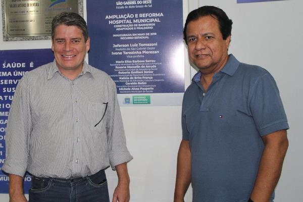 Emenda parlamentar de 2016 foi uma reivindicação do vereador Marcos Paz para o hospital.