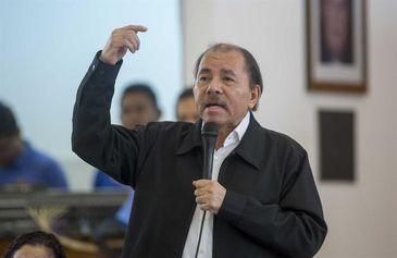 Presidente da Nicarágua Daniel Ortega/Jorge Torres/Agência EFE/direitos reservados