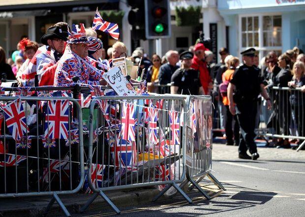 Casamento real atrai milhares de turistas para Windsor e outras cidades do Reino Unido/Isabel Infantes/EFE/Direitos Reservados