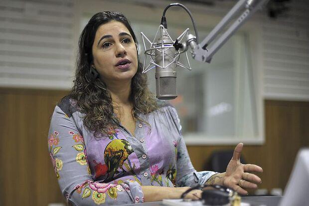A ex- delegada- chefe da DPCA, Valéria Martirena, fala sobre Pedofilia durante entrevista à Radio Nacional de Brasilia/Marcello Casal jr/Agência Brasil