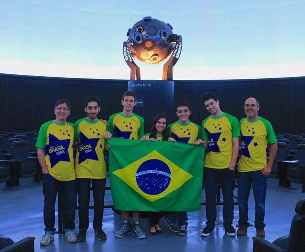 equipe brasileira astronomia/Divulgação/OBA