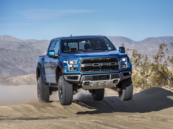 Ford apresentou a F-150 Raptor 2019 que chega ao mercado norte-americano no final do ano