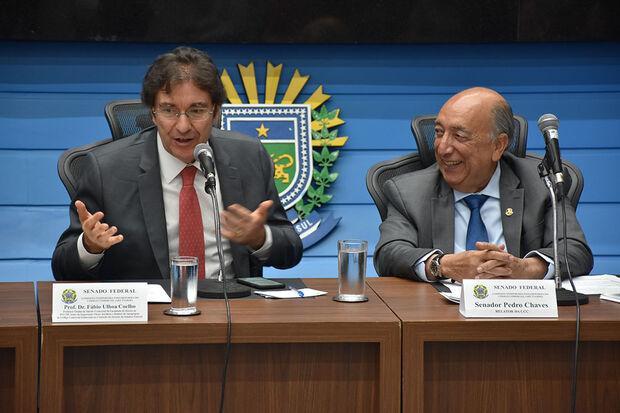 Pedro Chaves realiza audiência sobre novo Código Comercial