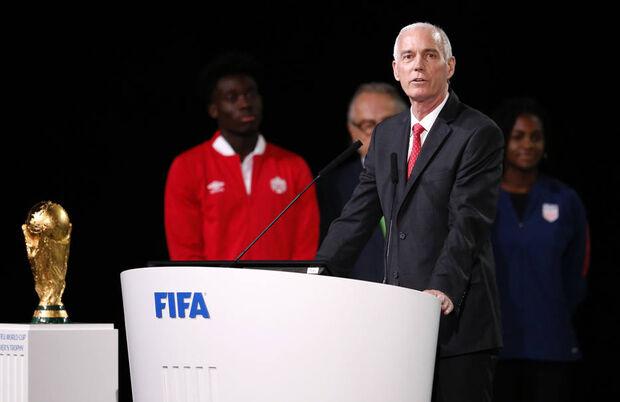 Steve Reed, presidente da Associação de Futebol do Canadá