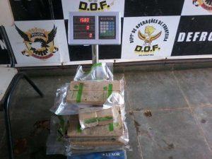 A ocorrência foi registrada e entregue na Delegacia Especializada de Repressão aos Crimes de Fronteira (Defron) para os procedimentos legais