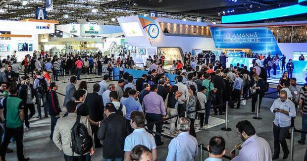 Feira Internacional de Tecnologia para as Indústrias de Alimentos e Bebidas em São Paulo