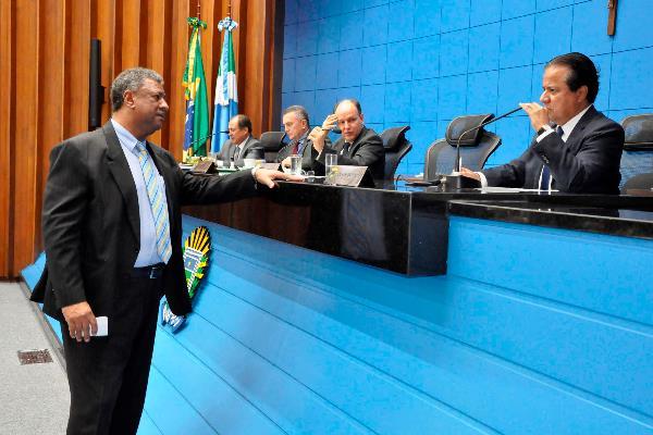 Plenário da Assembleia durante sessão ordinária