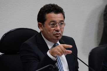Primeira reunião da CPI da Petrobras no Senado. Na foto, o presidente da comissão, senador Vital do Rêgo (Valter Campanato/Agência Brasil)/Valter Campanato/Agência Brasil