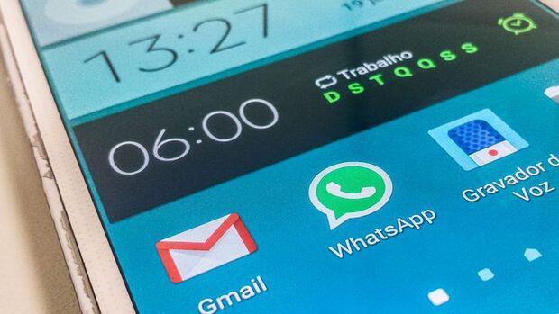 WhatsApp/Marcello Casal Jr./Agência Brasil