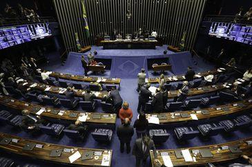 Plenário do Senado aprova urgência para projeto com isenção tributária para o diesel./Fabio Rodrigues Pozzebom/Agência Brasil