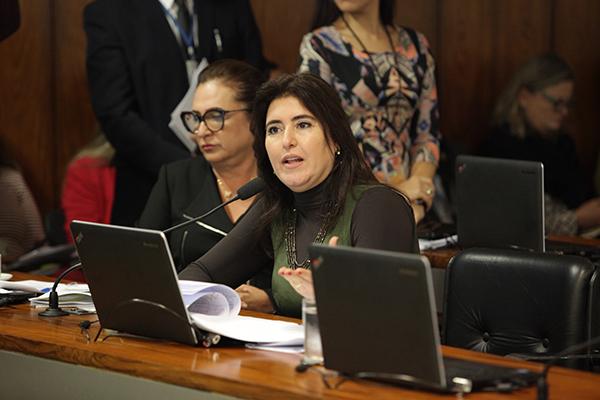 Simone ressaltou que o projeto de Dalírio (PLS 288/2017) entre outros pontos, separa o especulador do cidadão de boa-fé, ao criar uma justa causa para devolução do imóvel