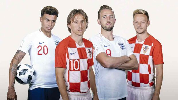 Croácia e Inglaterra decidem quem pega a França na final da Copa do Munod