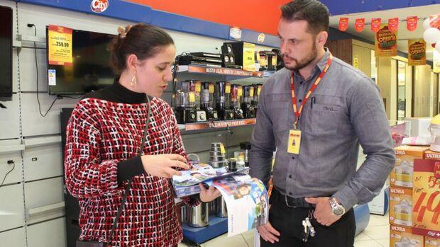 Com essa ação, a coordenação do Programa tem o objetivo de abastecer o comerciante com o passo a passo dos trabalhos, para que todos possam se programar.