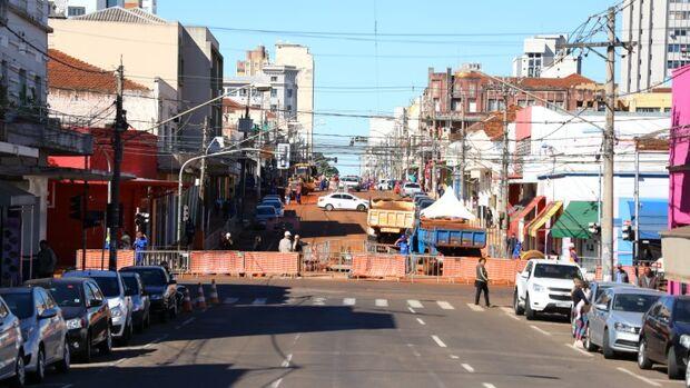 A Agetran orienta ainda que os motoristas devem evitar a rua Rui Barbosa, já que, por conta das obras, há vários pontos de lentidão