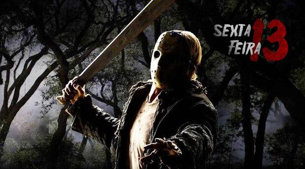 Sexta-feira 13 é uma longa série de filmes de terror americano dos anos 80. Desde então, sempre que o dia 13 cai numa sexta-feira, a referência ao terror é lembrada