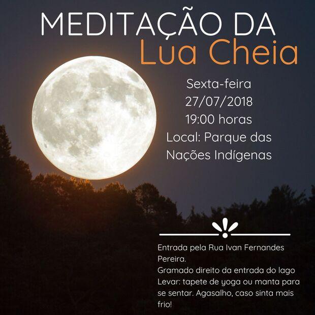 d91d88cf3fa Meditação da Lua Cheia acontece no Parque das Nações Indígenas - A ...