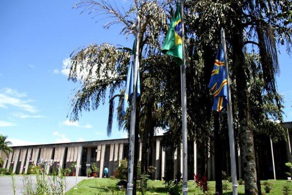 Palácio Guaicurus, sede da Assembleia Legislativa de MS